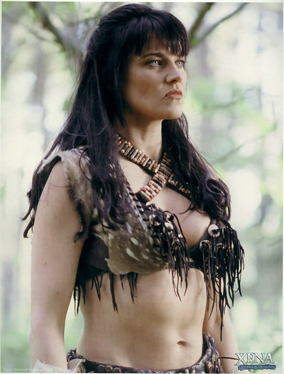 Xena: warrior princess topless nude picture