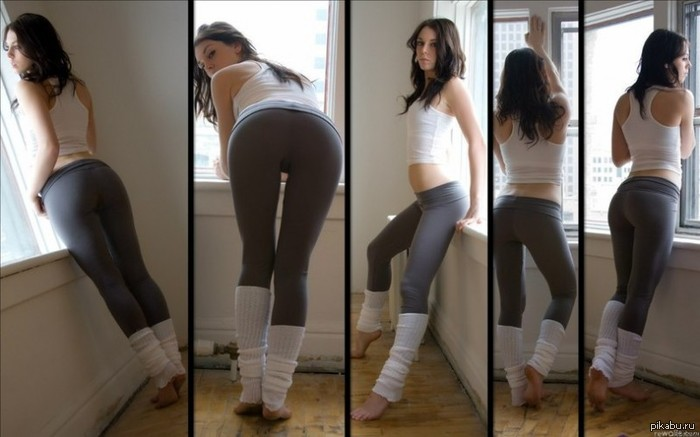 Cute chick Dani Daniels sheds spandex clothing to fuck in pink leg warmers № 632194 загрузить