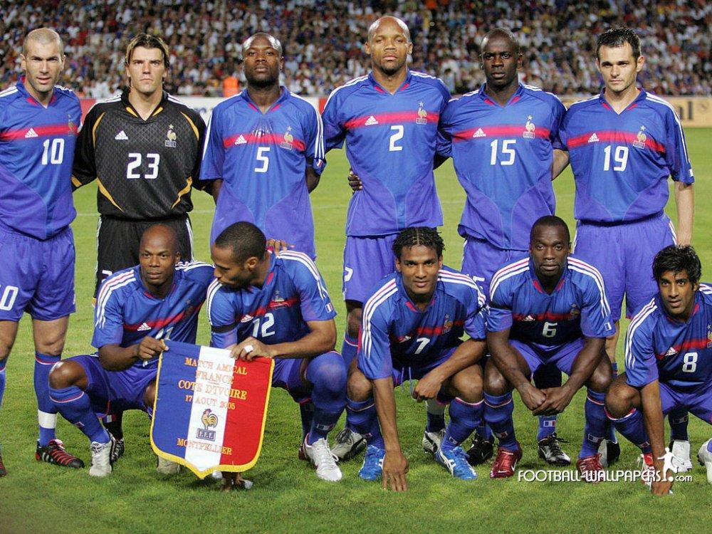 Негры в сборной франции
