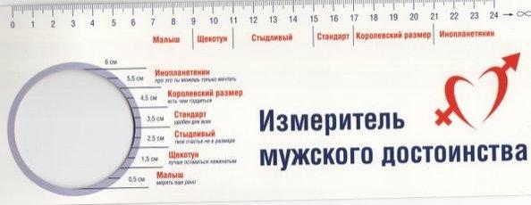 Размеры пениса 19 лет