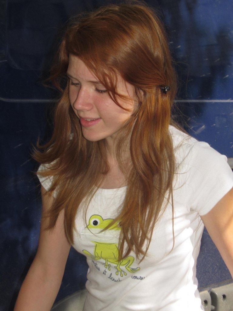 Фото одной рыженькой девушки