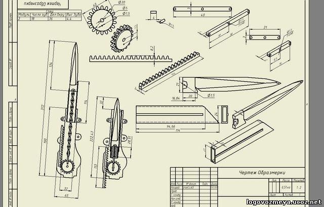 Клинок ассасина сделанный своими руками