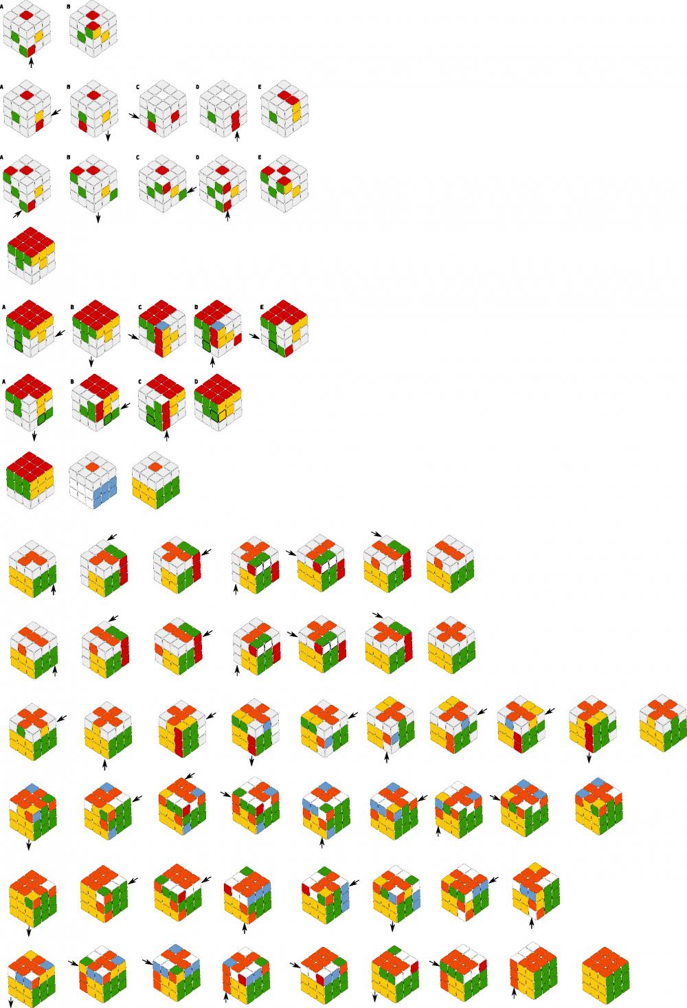 Как собрать кубик рубика 6х6 схема фото 669