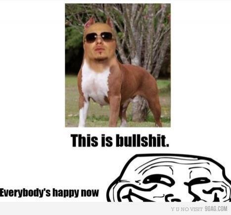 Pitbull я посрал