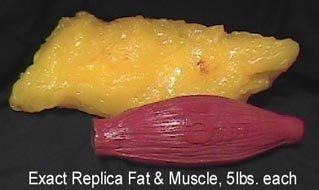 Килограмм жира и мяса