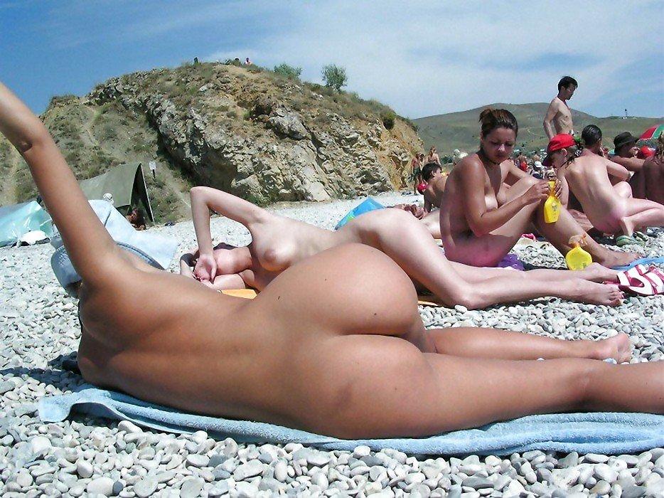 Фото стояков на нудистских пляжах