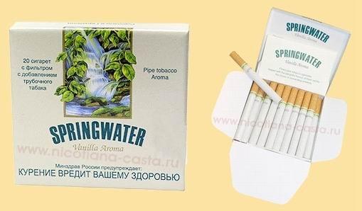 Springwater купить сигареты купить электронную сигарету ego недорого