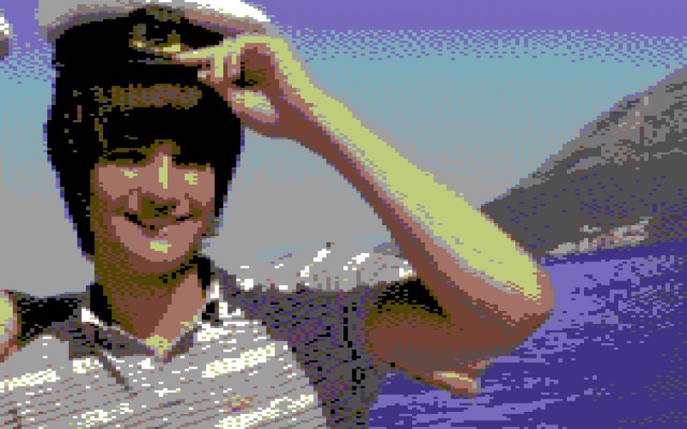 как фото сделать пиксельным