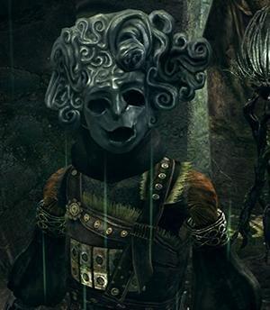Dark souls маска ребенка