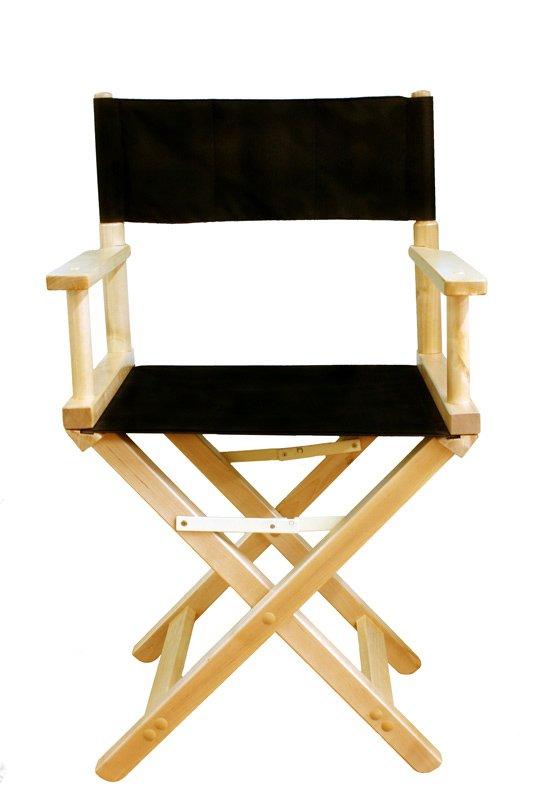 Режиссёрский стул своими руками