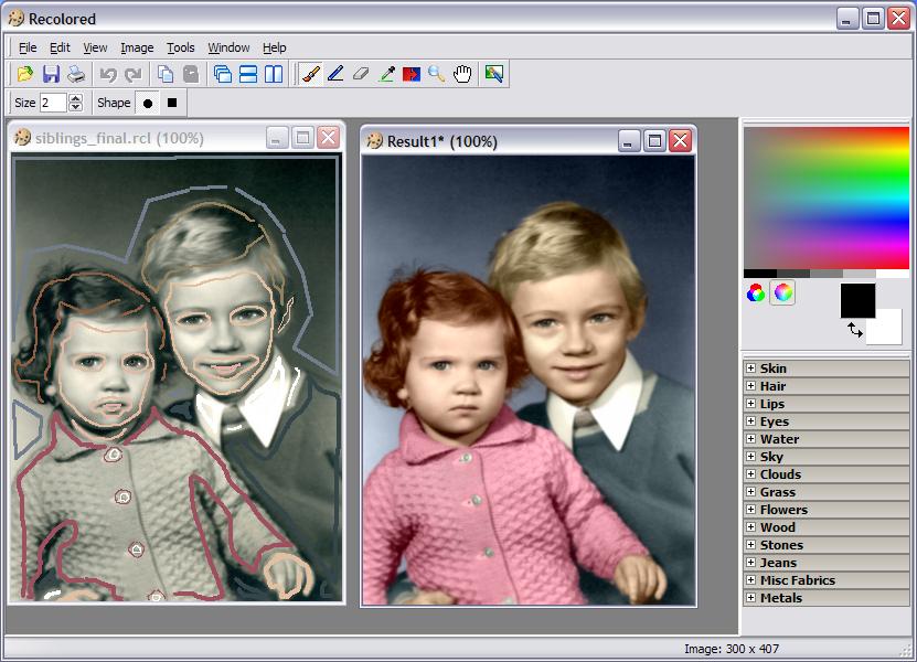 как сделать цветным черно-белое фото в фотошопе