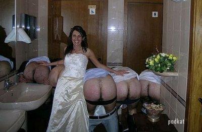 свидетель и невеста трахаются