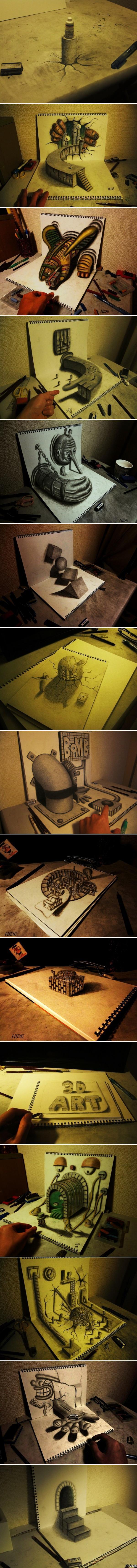 3D рисунки Кевина Скотта часть 2 (Длиннопост)