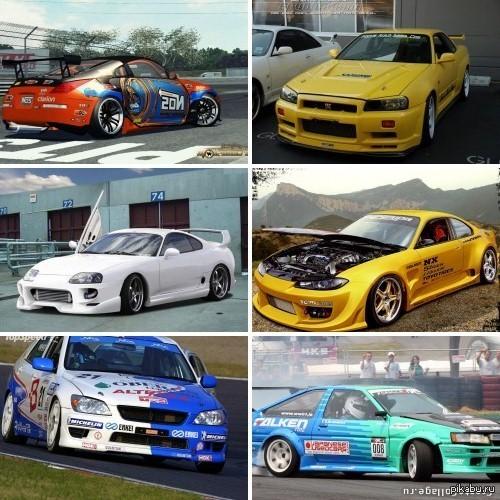 а неужели вам не нравятся такие машины?? в ответ на посты с американской классикой ловите бешеных японцев)