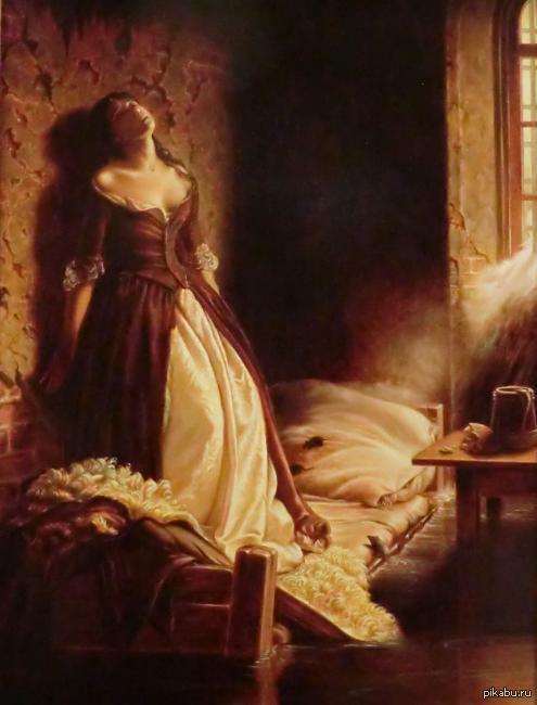флавицкий княжна тараканова история картины Аэрофлот, скорее всего