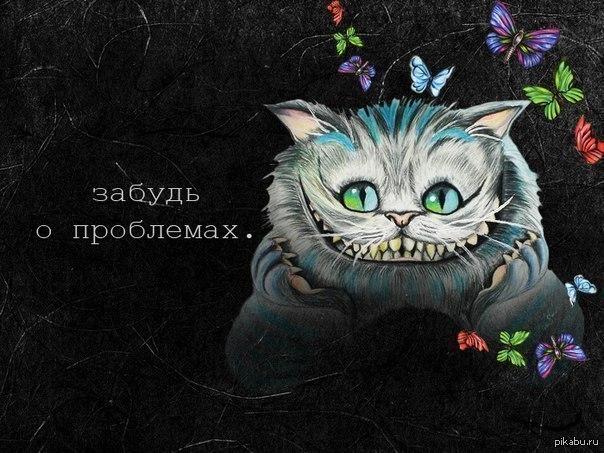Чеширский кот открытка с днем рождения, анимация картинка