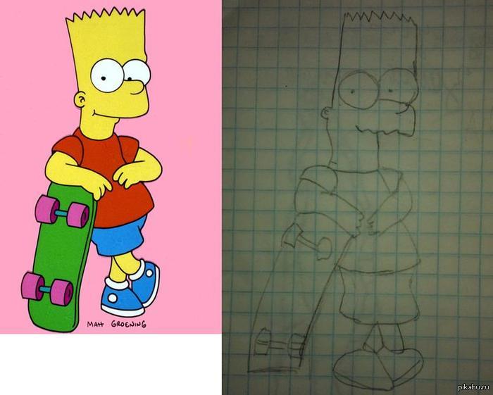 Учимся рисовать Барта Как вам?)