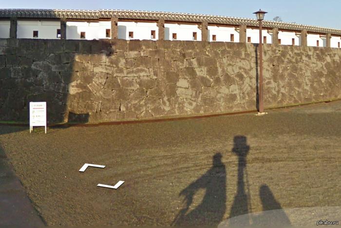 Оказывается, Google Street View снимают не только с машины Случайно наткнулся, Япония)