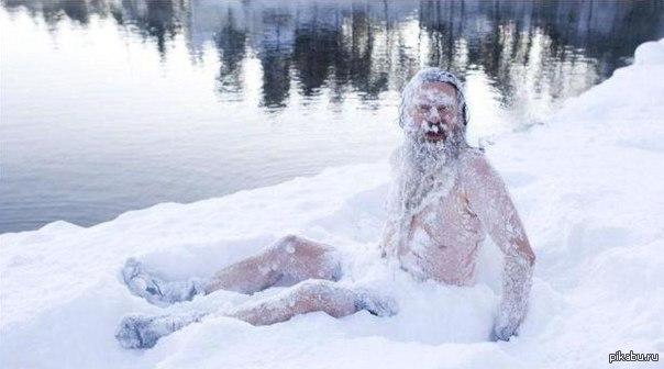 Добра вода зимой