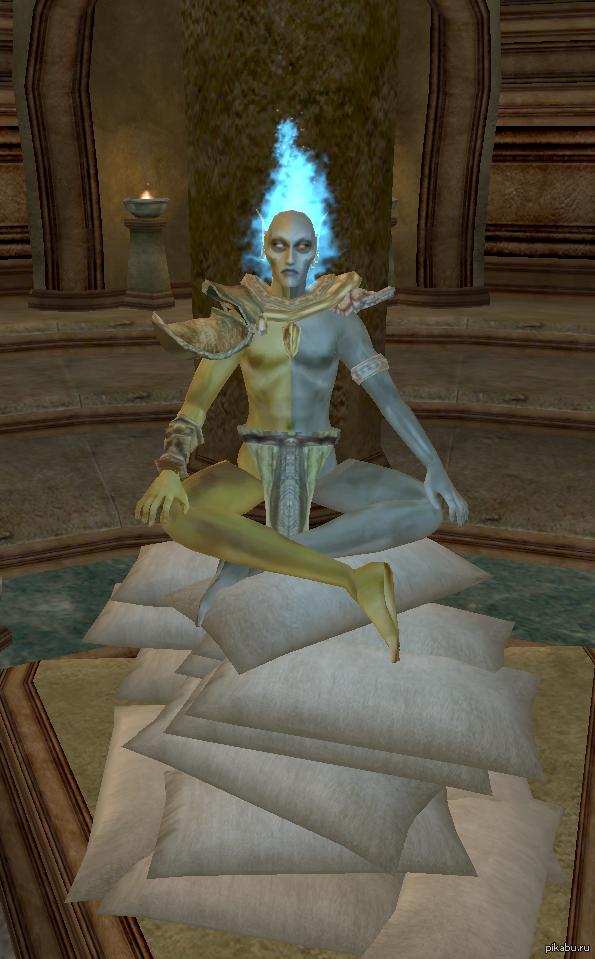 Сбылась мечта идиота... ...положить под ливетирующего Вивека кучу подушек.