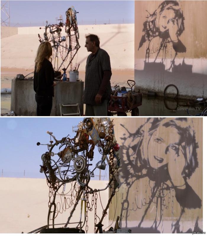 Искусство или обман?! Смотрел сериал и наткунлся вот на такую вещь, интересно это реально сделать такое портрет/скульптуру или же все это фотошоп. Так или иначе - это красиво!