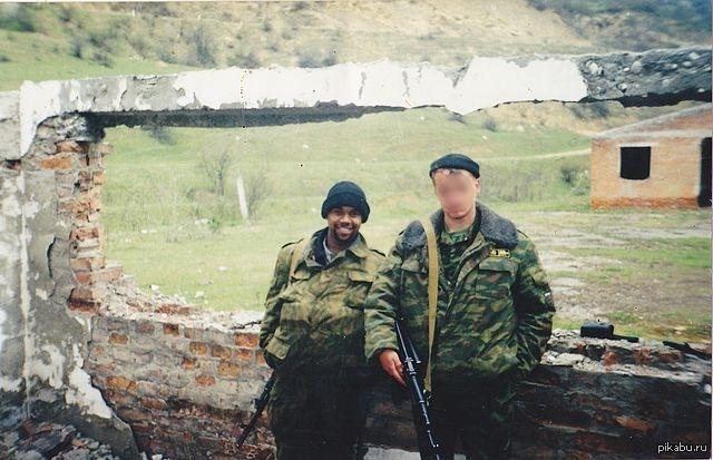Негры солдаты русская армия