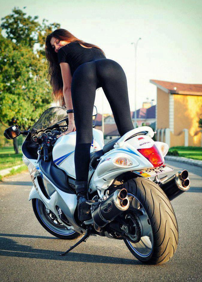 Раком на мотоцикле