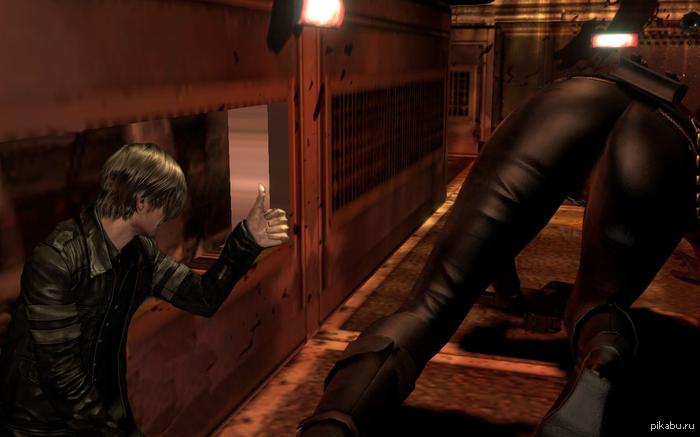 Resident evil 6 Leon знает толк.