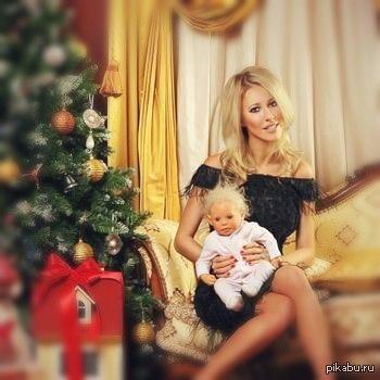 ксения собчак и ее ребенок фото