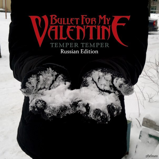 Bullet For My Valentine Temper Temper Russian Edition :D Русская версия  нового альбома.