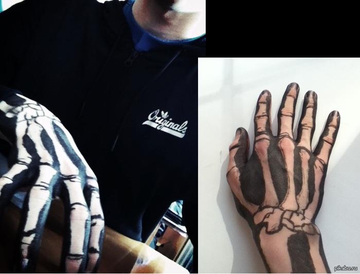 ручка и руки откуда надо