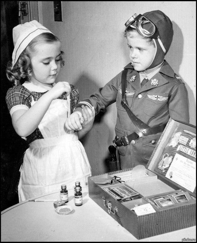Картинки девочка в войну