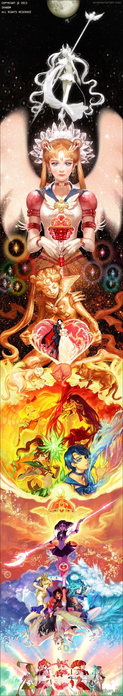 Sailor Moon Красота *о*  Немножко длиннопост, найдено в сети.