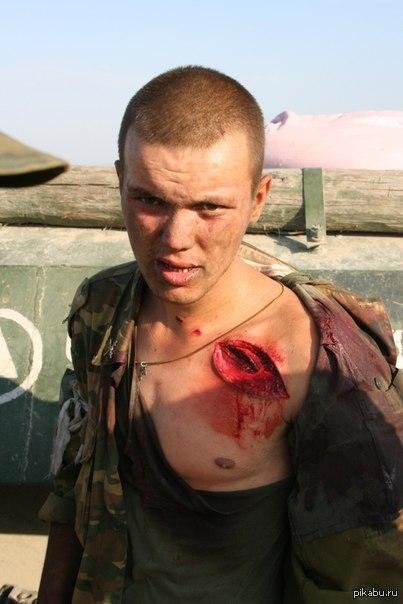 Солдат с хуем