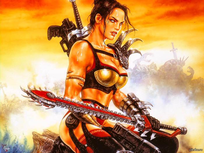 Одна из самых крутых игр в которые я играл Да и вообще вселенная очень интересная (Heavy Metal: F.A.K.K.² для тех кто не в курсе)