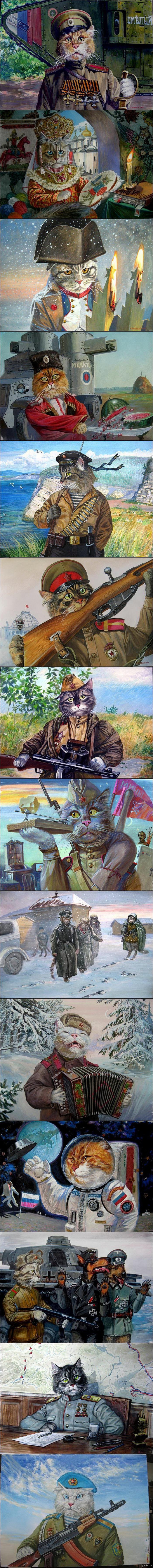 Эпические коты Взято отсюда  http://inna1903gr.livejournal.com/764815.html
