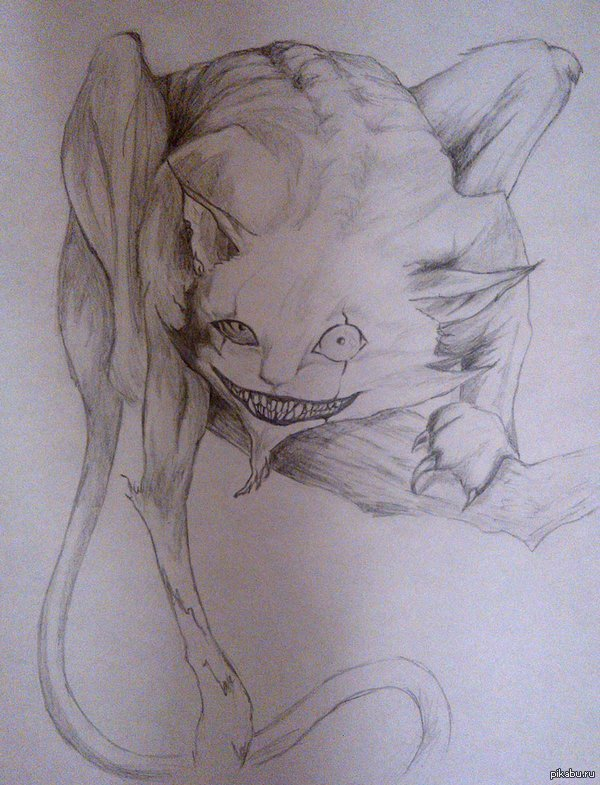 Мое котейко ^_^ Очень понравился котик, вот решала его нарисовать (срисовать точнее, так как сама плохо рисую)... Не все же няшных котиков выкладывать, пусть будет и такой.