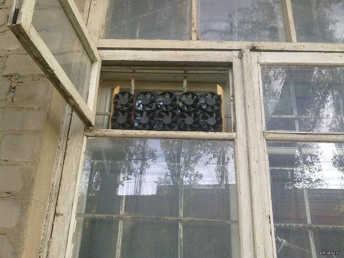 Чудо инженерной мысли Это окно можно встретить по дороге в мой институт)