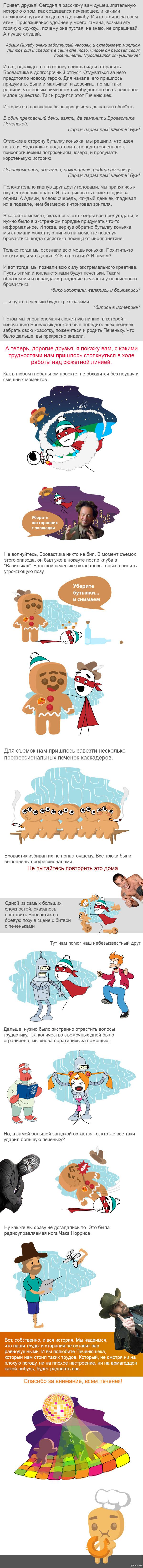 История об истории появления Печенюшки. Открываем все секреты Осторожно, длиннопост с картинками. И давайте закончим на этом :)