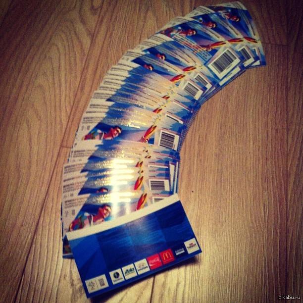 Билеты на открытие Универсиады 2013 Можно успокоиться - точно поеду