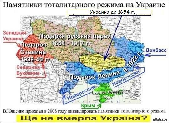 Подарки русских царей на карте 970