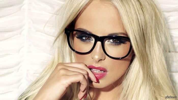 девушка картинки в очках