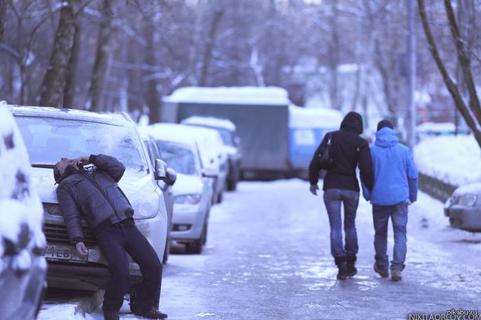 Московские Дворики около моего подъезда