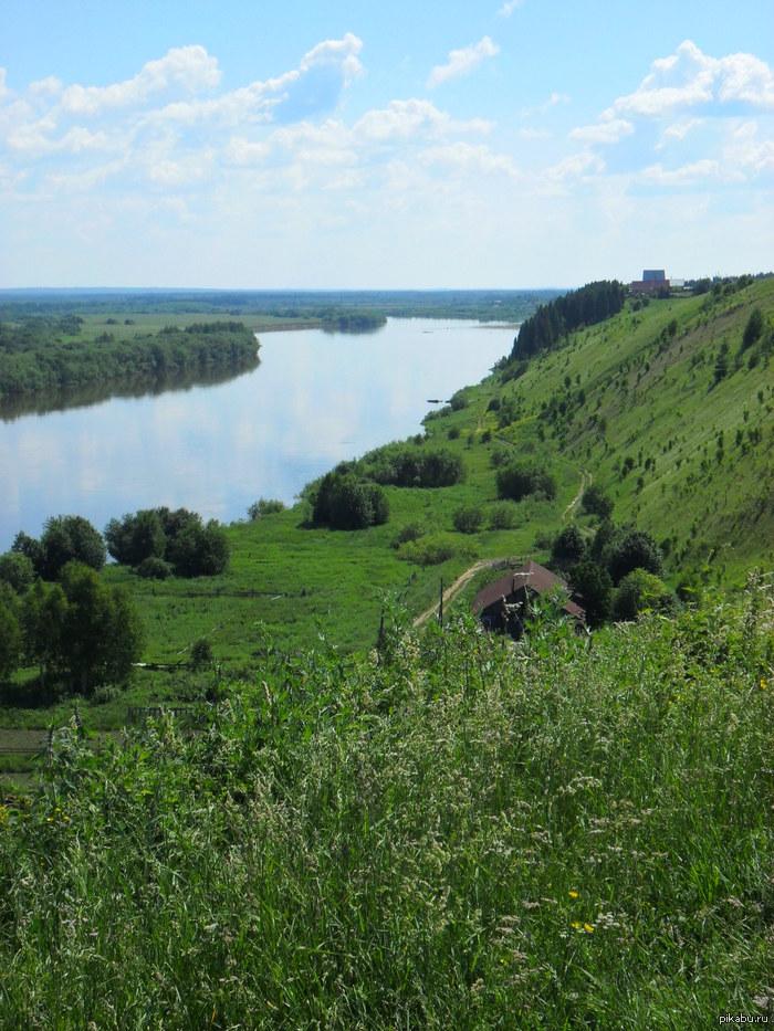 Чердынь, река Колва.