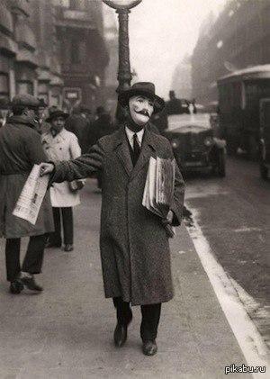 Снимок был сделан на улицах Парижа в 1929-м году