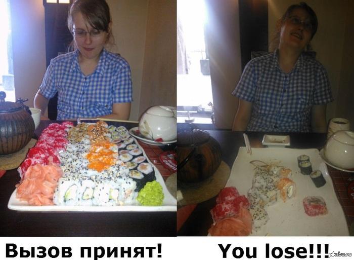 Сходила в суши-бар... Вывод: скидки до добра не доведут!