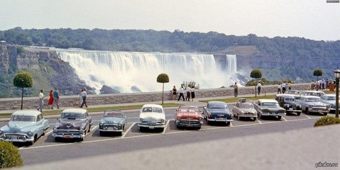 Ниагарский водопад, 1958 год
