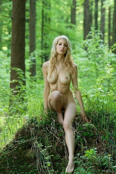 Фото сисек в лесу фото 347-68