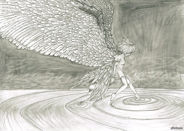 Вместо фигни о ВК - пусть будет рисунок моей девушки Тут был баян :(