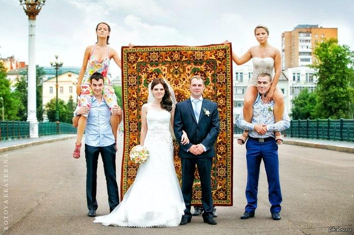 Оригинальное фото на свадьбе Стырено с ВК у знакомых